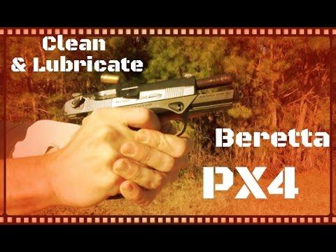 How To Clean & Lubricate A Beretta PX4 Storm Handgun (HD)