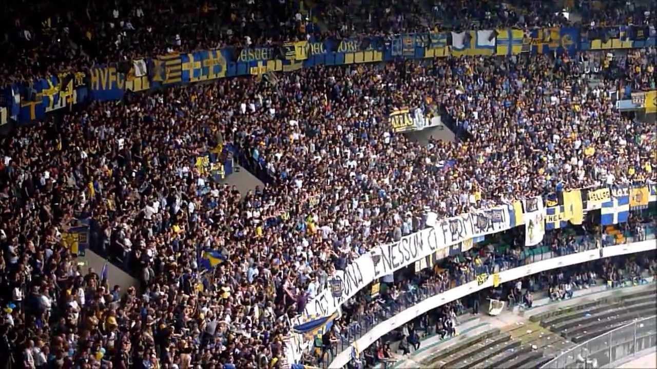 Hellas Verona - Empoli 0-0: Tifo Butei in Curva Sud. - YouTube