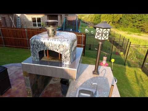"""28"""" DIY Dome Outdoor Wood-Fired Brick Pizza Oven by the McClure Family & BrickWood Ovens"""