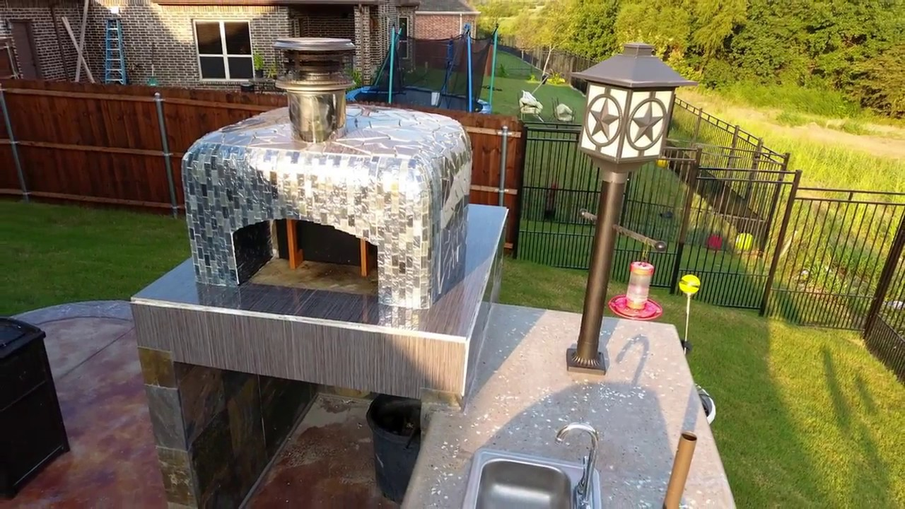 28 diy dome outdoor wood fired brick pizza oven by the mcclure