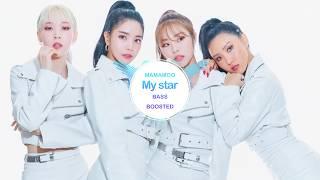 MAMAMOO - My star [ BASS BOOSTED ]  🎧 🎵