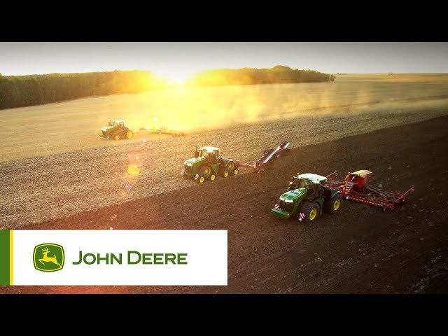 The John Deere 9R, 9RT, and 9RX Tractors: Ultimate Power