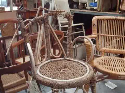 Cane  Wicker Furniture Restoration  How To DIY  YouTube