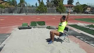 Long Jump/Triple Jump Landing Drill