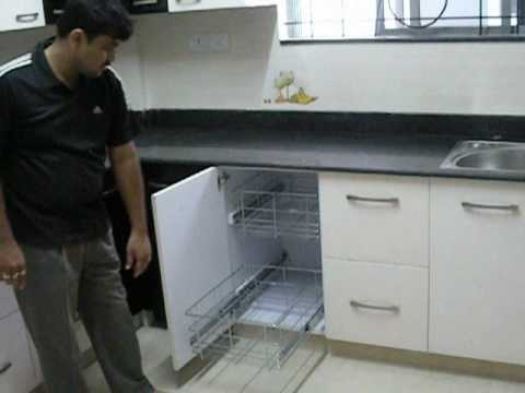 kitchen design in flats.  Modern Kitchens Bangalore YouTube