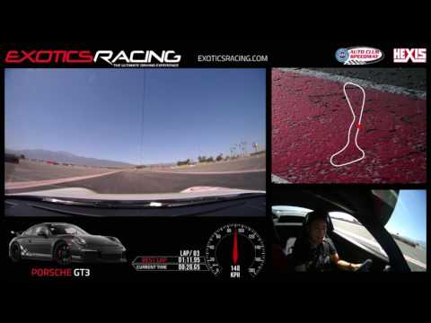 Trying out the Porsche 911 GT3 (991.1) at Exotics Racing Los Angeles