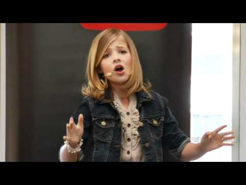 Jackie Evancho - Angel (YouTube Take Your Kids To Work Day)