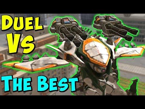 DUEL VS AO JUN & ARES - Best Meta Setups - War Robots Mk2 Gameplay WR