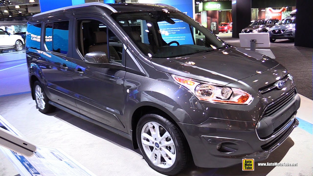 2015 ford transit connect titanum lwb exterior and interior walkaround 2015 new york auto show youtube