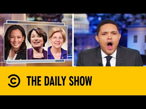 Democratic Candidates' Bizarre Tactics To Lure Voters  | The Daily Show with Trevor Noah