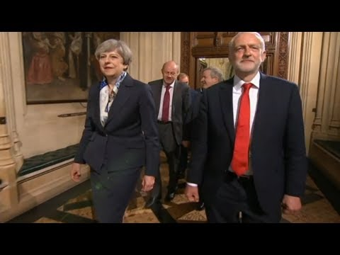 Corbyn Refuses Talking With May State Opening of Parliament