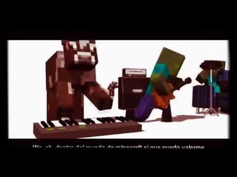 Rap de minecraft creeper vs zombies youtube - Minecraft zombie vs creeper ...