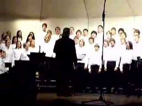 Mayer Lutheran High School Choir- Amazing Grace