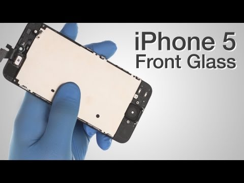 47020dd6e3801c Front Glass LCD Screen Assembly Repair - iPhone 5 How to Tutorial - YouTube