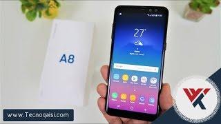 مراجعة شاملة لهاتف Samsung Galaxy A8 2018 هاتف فخم جدا | Full Package