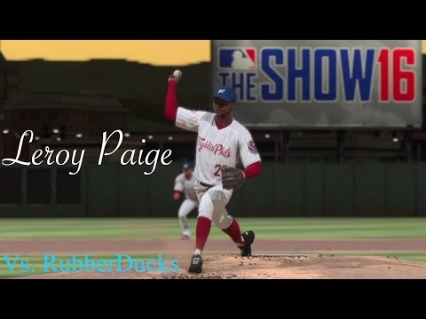 MLB The Show 16 - Leroy Paige - Road To The Show - Pitching Against The RubberDucks