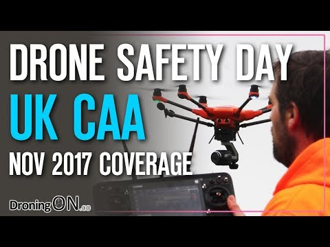 DroningON | CAA Drone Safety Day (Nov 17 Compton Abbas) + Yuneec H520 Demo