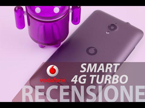 Vodafone Smart 4G Turbo, recensione in italiano