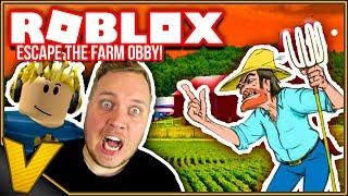 BONDEMANDEN ER EFTER VERCINGER OG TORTEN! :: Escape The Farm Obby! - Roblox Dansk