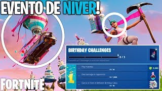 ALL ABOUT THE FORTNITE ANNIVERSARY EVENT! CHALLENGES, SKIN, ETC! News
