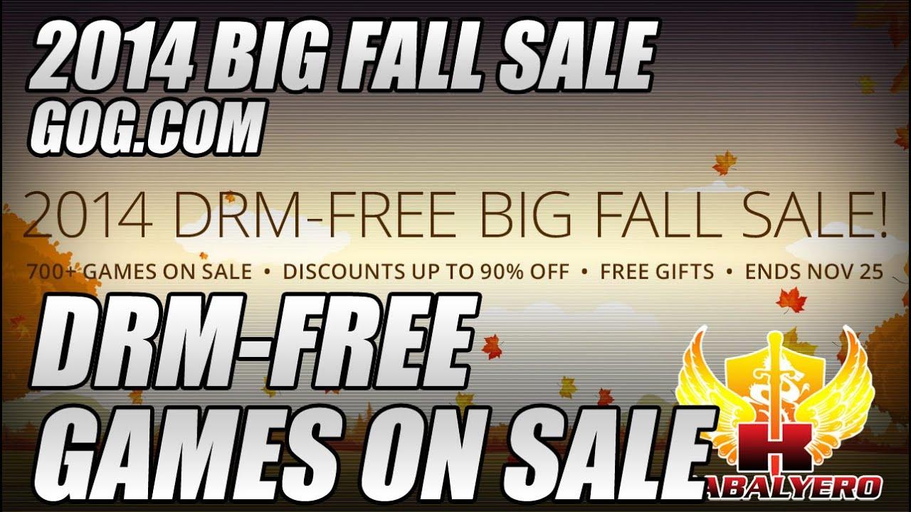 DRM-Free Games On Sale, Big Fall Sale 2014