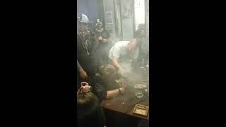 Largest dab I've seen by one person... 22 grams...