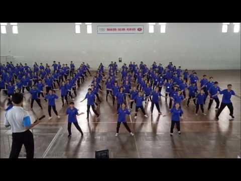 Bài Thể Dục Nhịp Điệu Trường ĐHKHXH&NV Khoa Giáo Dục K16 và Khoa Xã Hội Học