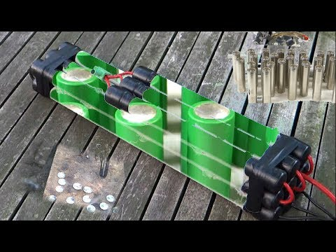 Battery pack silver connects 18650 akku 36V-48V