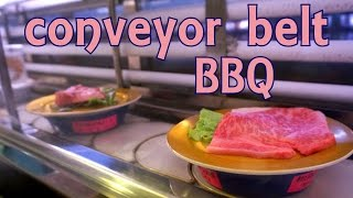 Beef & BBQ Conveyor Belt Restaurant (in Japan) || 回転焼肉松坂牛