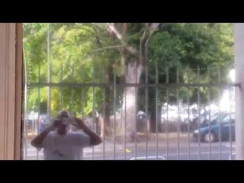 Pose film protection solaire effet miroir argent voir sans etre vu 97400 saint denis reunion