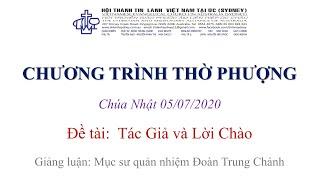 HTTL KINGSGROVE (Úc Châu) - Chương trình thờ phượng Chúa - 05/07/2020