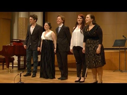 2013 MasterClass in Opera and Classical Singing with Emma Matthews and David Harper