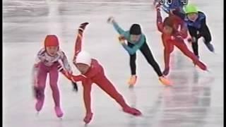 ▲2003/02/11▲ 足寄大会(TV版) 2年女 500 スピードスケート 高木美保 動画 11