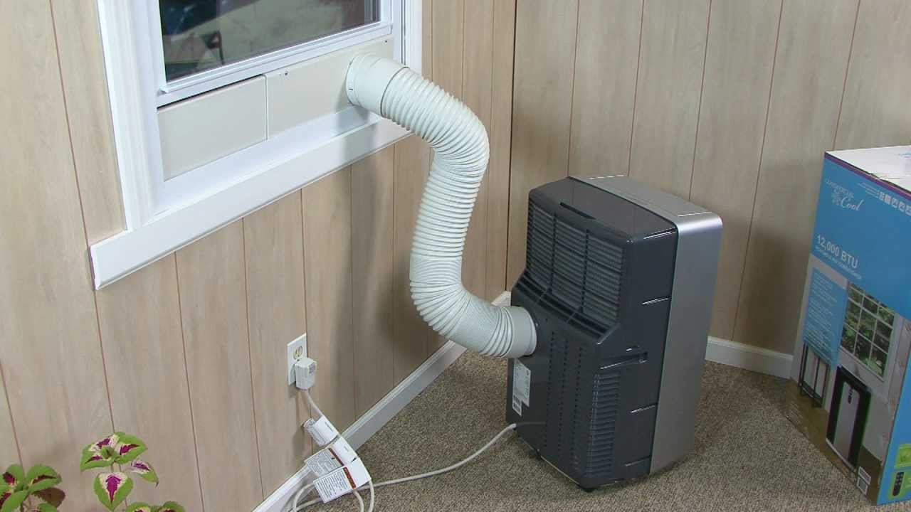 Haier Portable Air Conditioner Installation Video - YouTube