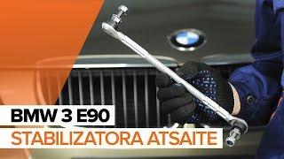Savienotājstienis uzstādīšana BMW 3 (E90): bezmaksas video