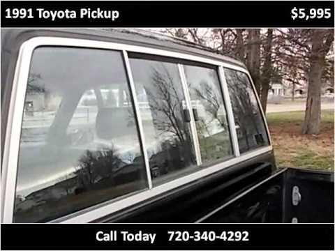 1991 toyota pickup used cars longmont co youtube for Victory motors trucks longmont