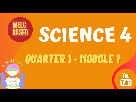 SCIENCE 4  MODULE | QUARTER 1 - MODULE 1| Materials that Absorb Water, Float, Sink and Undergo Decay