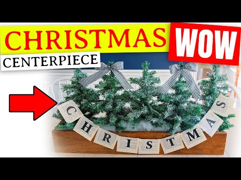 DIY Dollar Tree Christmas Decor Ideas 🎄 Holiday Centerpiece Ideas