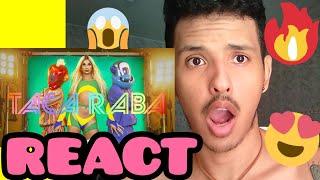 Baixar REACT Lia Clark -  Taca Raba (CLIPE OFICIAL)