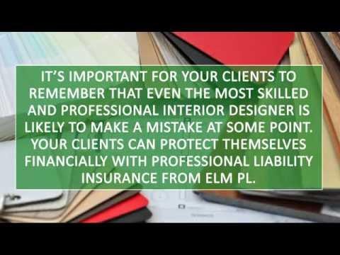 Interior Designer Professional Liability Insurance