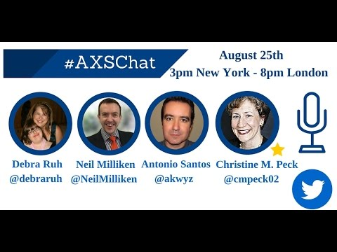 AXSchat:Christine Murphy Peck.CEO, International Association of Accessibility Professionals