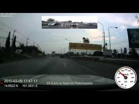 2015 drive-lapse from Bangkok, Thailand to Yuxi, Yunnan, China, 1080p, 60fps