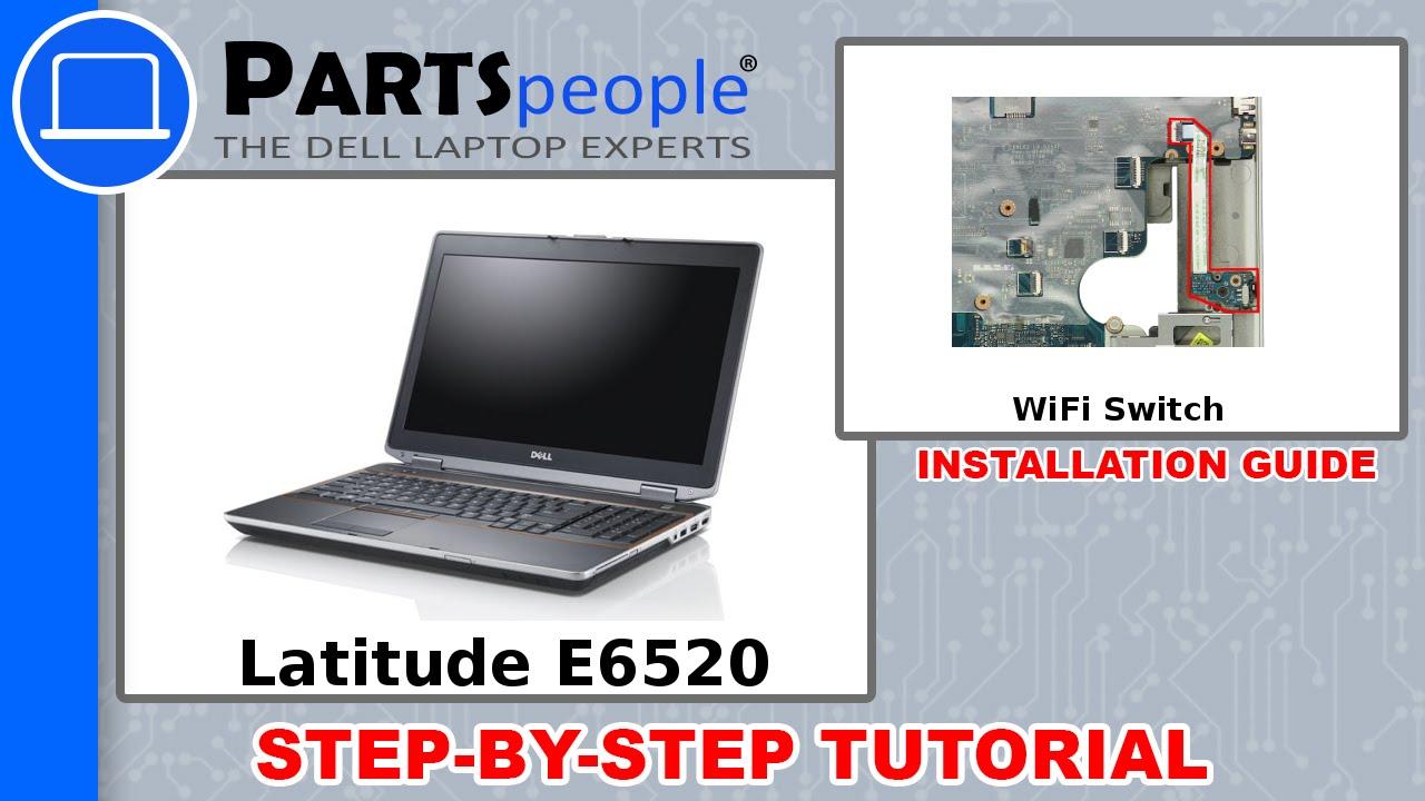 dell latitude e6520 service manual