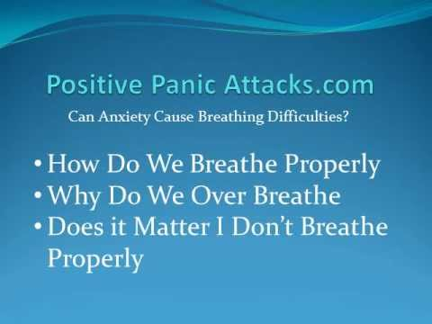Can Anxiety Cause Breathing Difficulties - YouTube