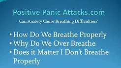 Can Anxiety Cause Breathing Difficulties