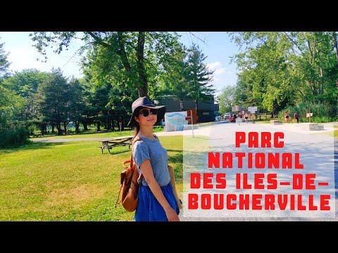 Hai vợ chồng đi chơi Công viên Îles-de-Boucherville   Parc national des Îles-de-Boucherville   4K