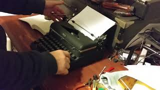 1947 Royal Quiet Deluxe Typewriter