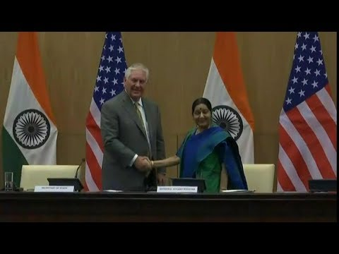 Secretary Tillerson Press Availability with Indian Foreign Minister Swaraj