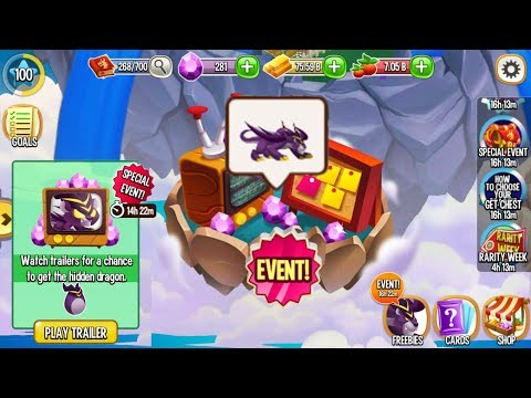 Dragon City - 25x Panther Dragon's Silver Chest Full Unlock [SPECIAL EVENTS]