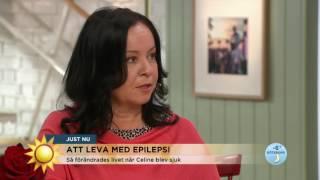18-årige Celine lever med epilepsi - Nyhetsmorgon (TV4)